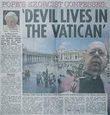 Image result for evil Vatican
