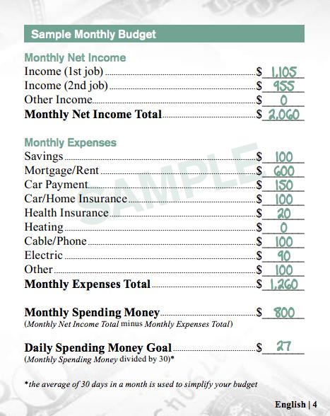 mcdonald budget